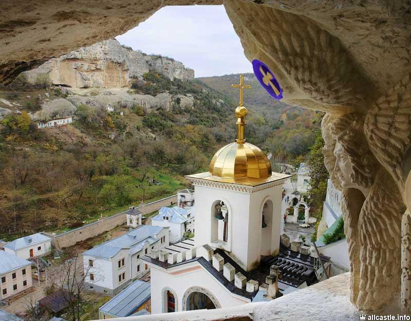 Бахчисарайский Успенский монастырь внутри