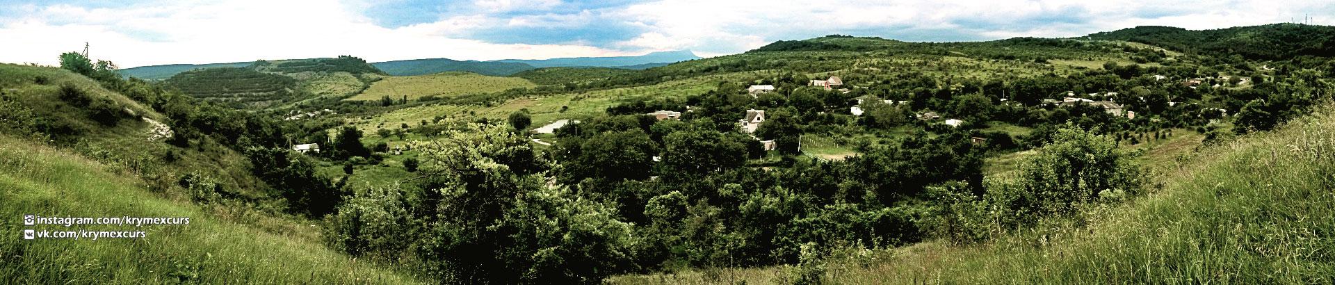 Долина в Крыму