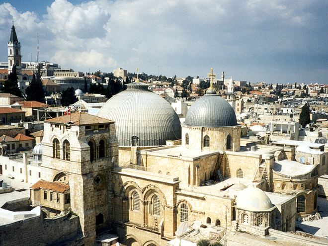 Паломничество в Израиль и Палестину