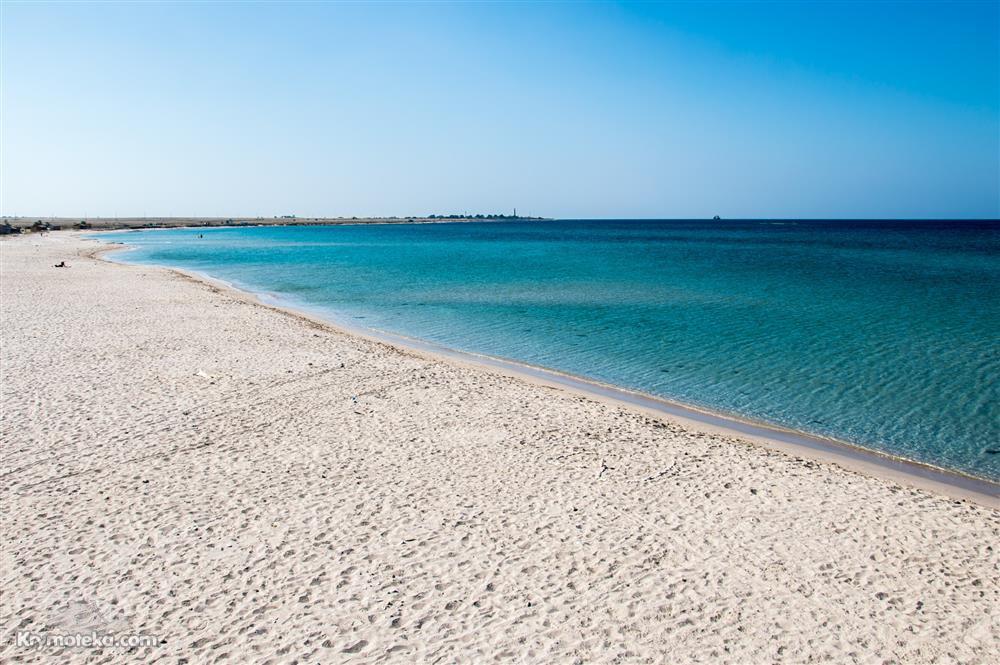 Пляж вблизи мыса Тарханкут