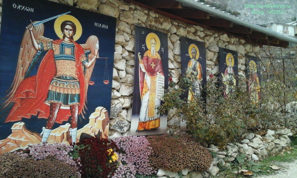Изображение строений мужского монастыря. Скит св. Анастасии Узорешительницы.