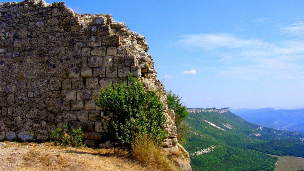 Фото крепостей княжества Феодоро. Доросская митрополия