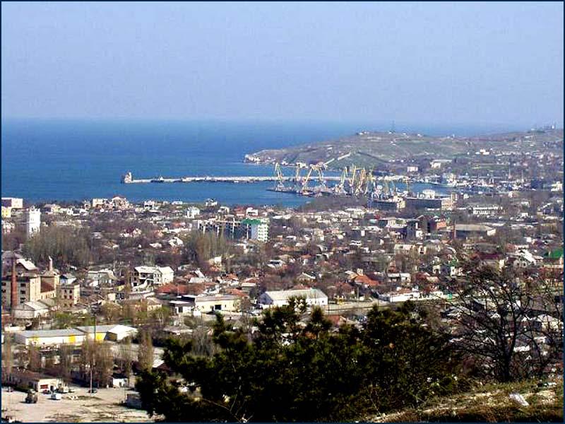 Фото города, в котором расположена древняя Феодосийская епархия