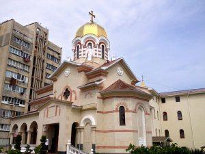 Фото единственного храма в РПЦ, посвященного Иоанну Готскому, Партенит, Крым