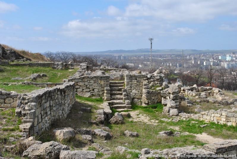 фото руин Пантикапея
