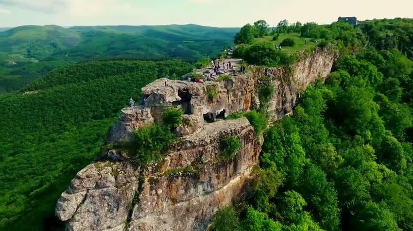 Изображение столицы готов в Крыму - Дори, в которой находилась Готская епархия.