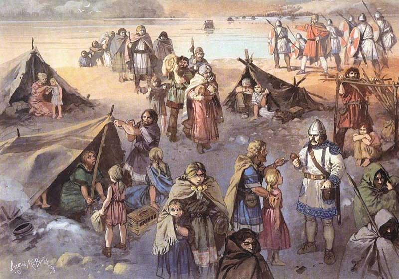 Картинка древних поселений готов