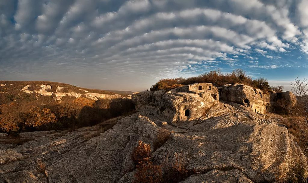 Объемное фото плато, экскурсионно-паломнический тур по Эски-Кермен