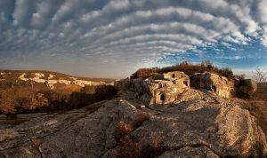 Объемное фото плато Эски-Кермен