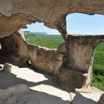 Особенности пещерных городов. Эски-Кермен, часть 2