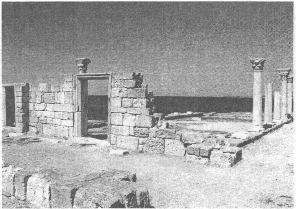 Фотография базилики в Херсонесе 6 век