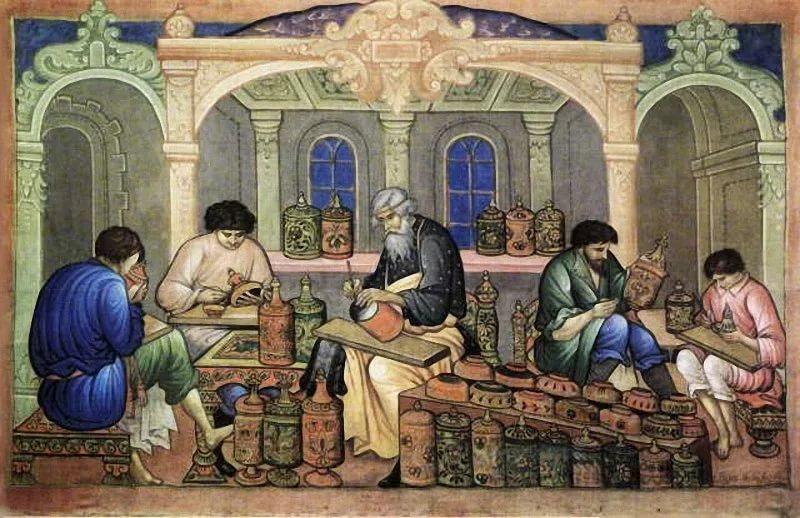 Фото: средневековая мастерская, цивилизация на Эски-Кермен