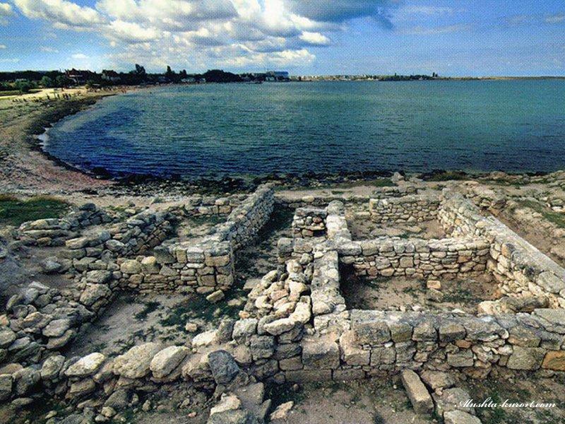 Фото: руины Калос-Лимен