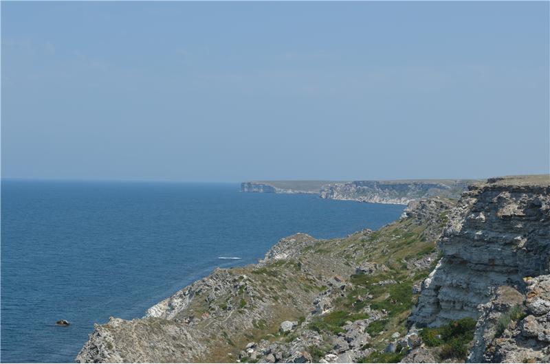 Изображение западного побережья Крыма
