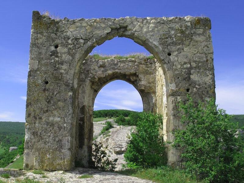 Изображение руин дозорной крепости