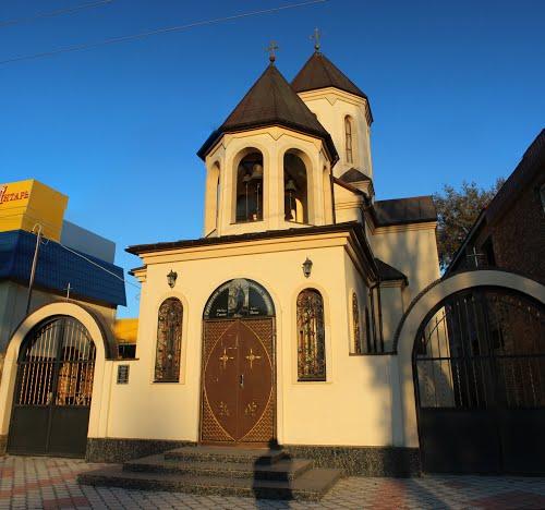 Изображен грузинский православный храм святой просветительницы Нины