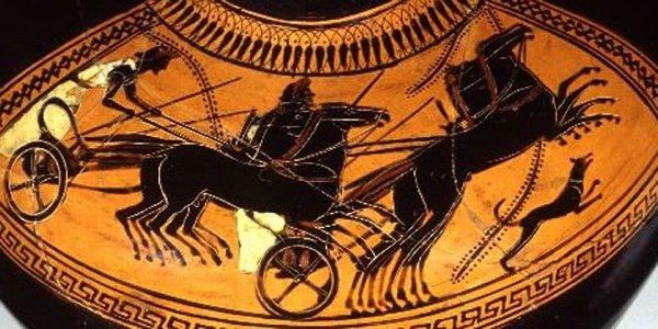 Гравюра: античная армия Херсонеса