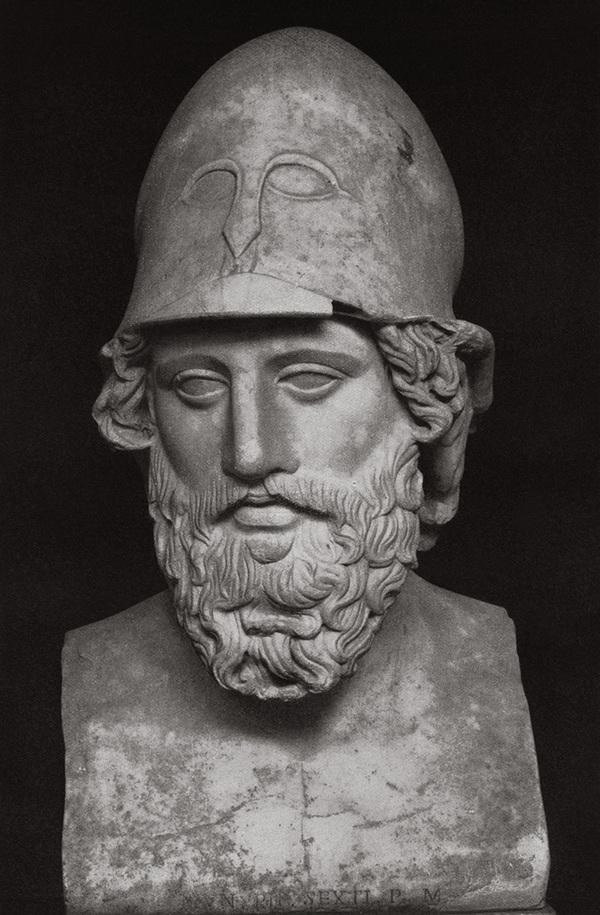 Изображение греческого полководца, предположительно Диофанта