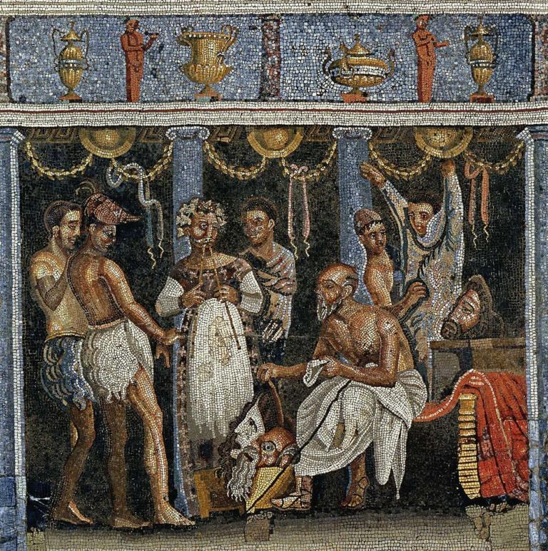 Мозаичный рисунок