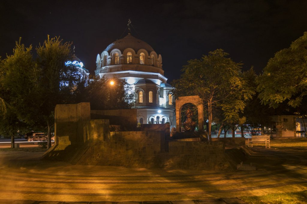 Изображен собор святого Николая Чудотворца в Евпатории