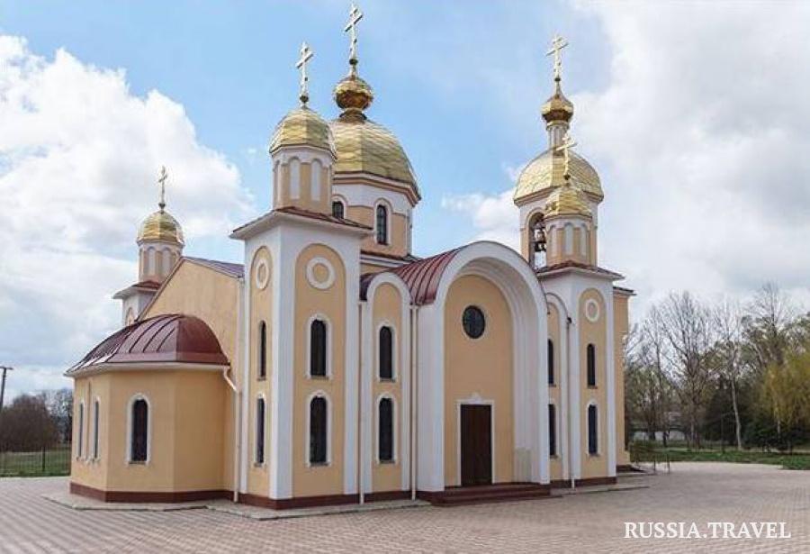 На картинке храм апостола Андрея Первозванного в Керчи