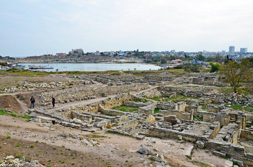 Фото: руины Херсонеса