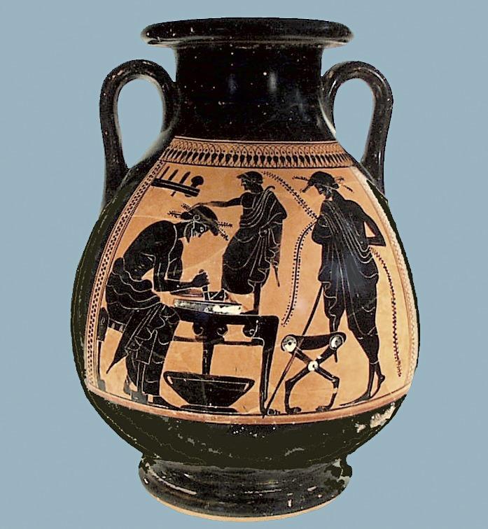 Изображение античного кувшина