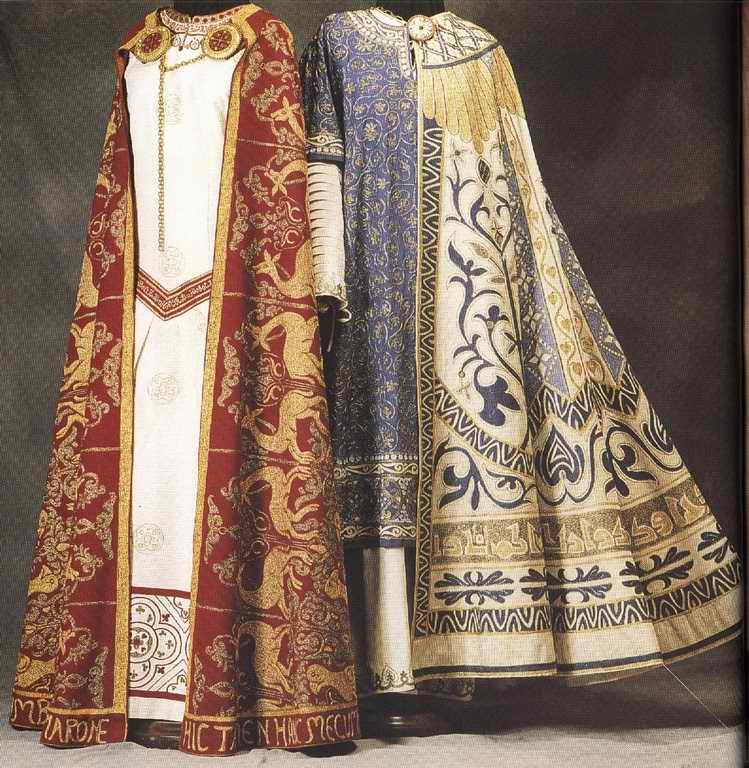 Картинка: средневековая византийская одежда