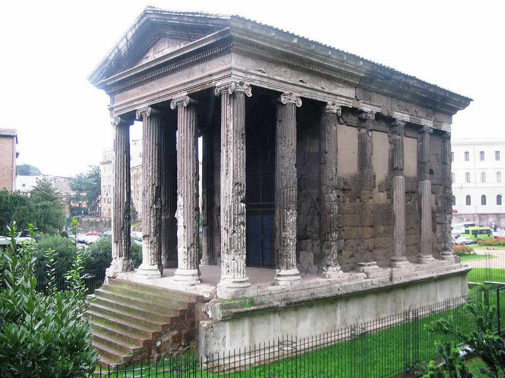 Изображение древнего языческого храма - капища