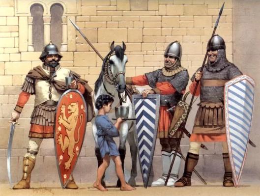 Картинка: средневековая греческая армия