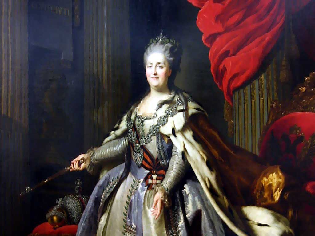 Императрица Екатерина II - картина