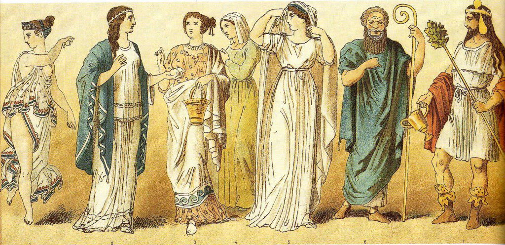 Рисунки древних греков