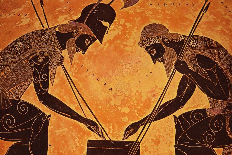 Показано изображение: искусство в Херсонесе