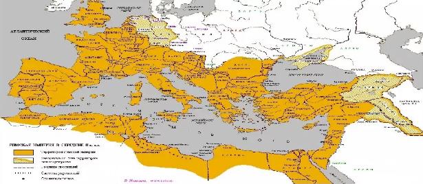 Карта: торговля в Херсонесе в Римский период