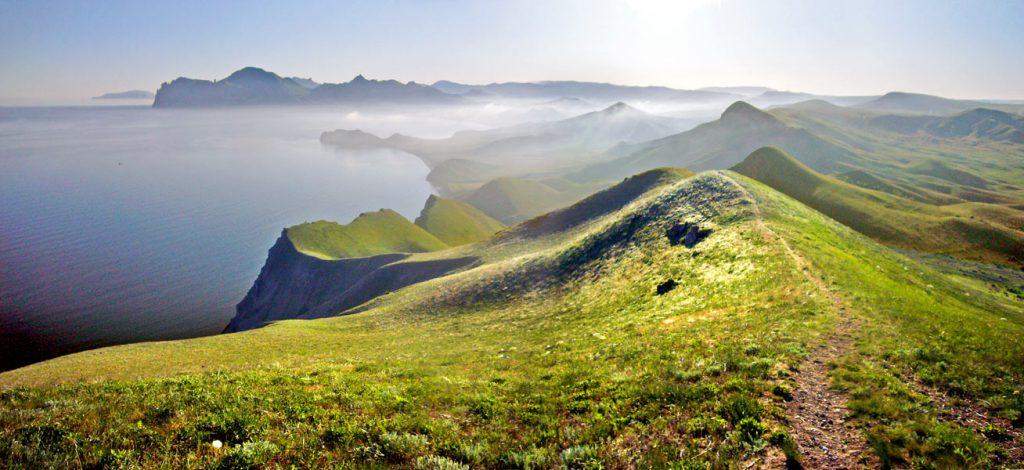 На фото Киммерия - Крым