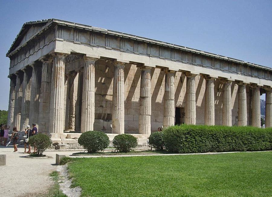Изображение классического греческого здания