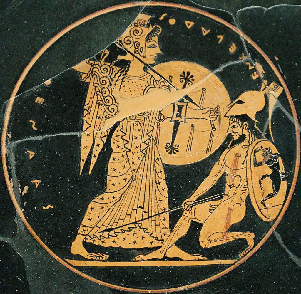 Древнегреческое изображение - картинка