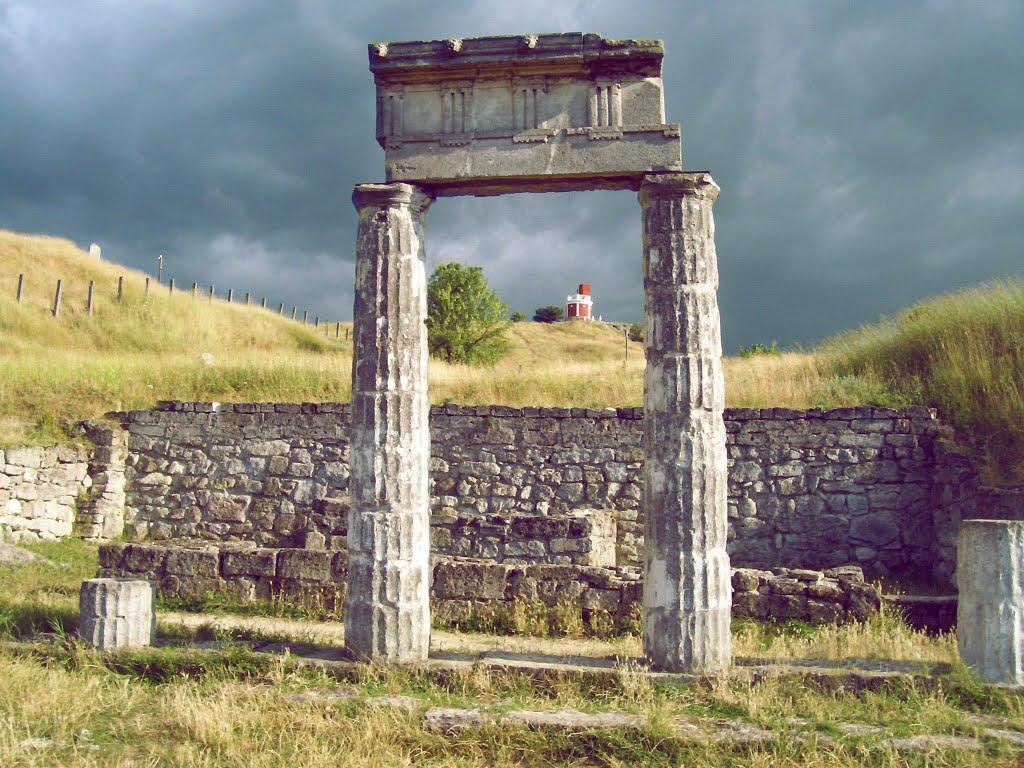 Фото древнего города Пантикапея. Апойкия