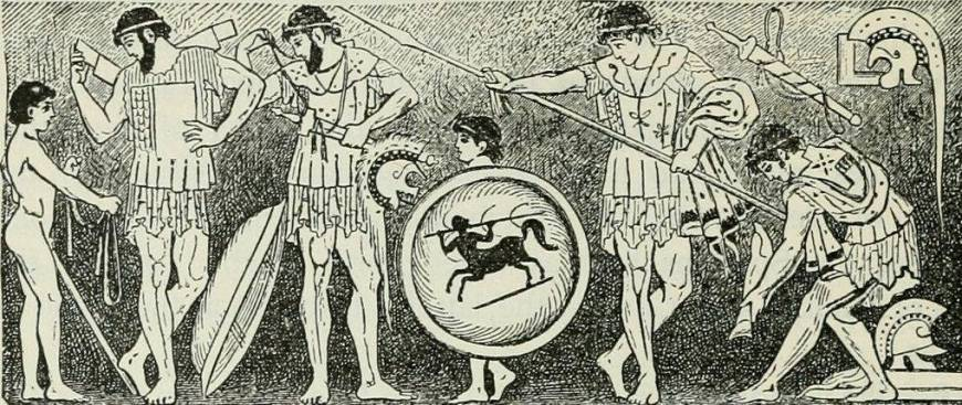 Картинка: древние эллины