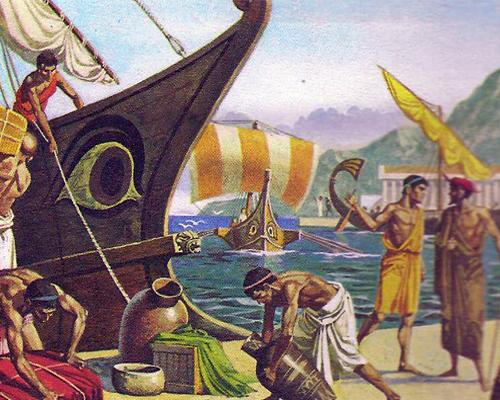 Картинка: торговля Боспора