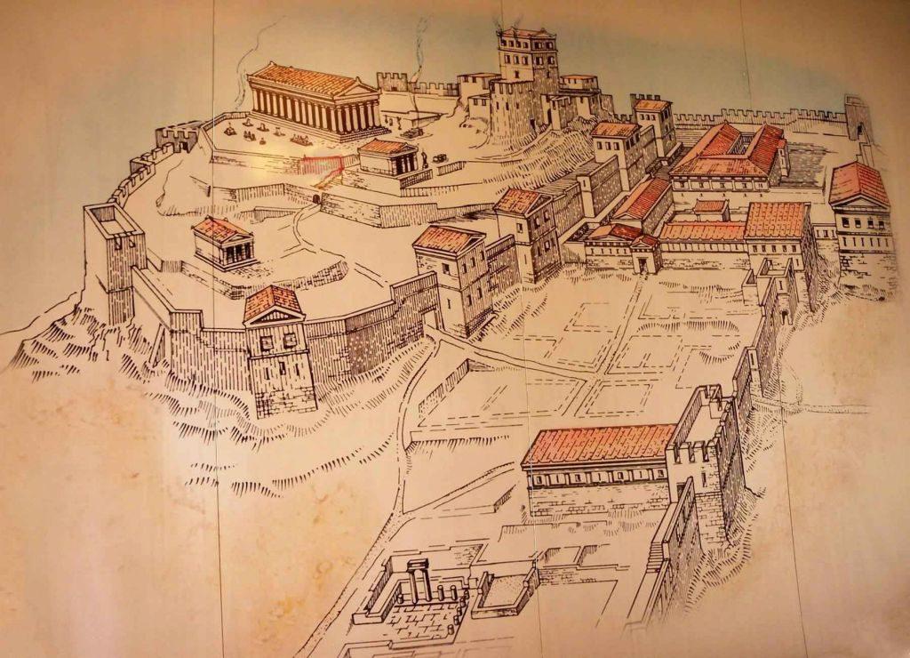 Изображение: древнегреческий полис